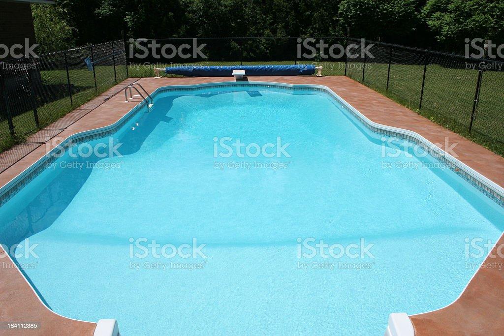 Big swimming pool royalty-free stock photo
