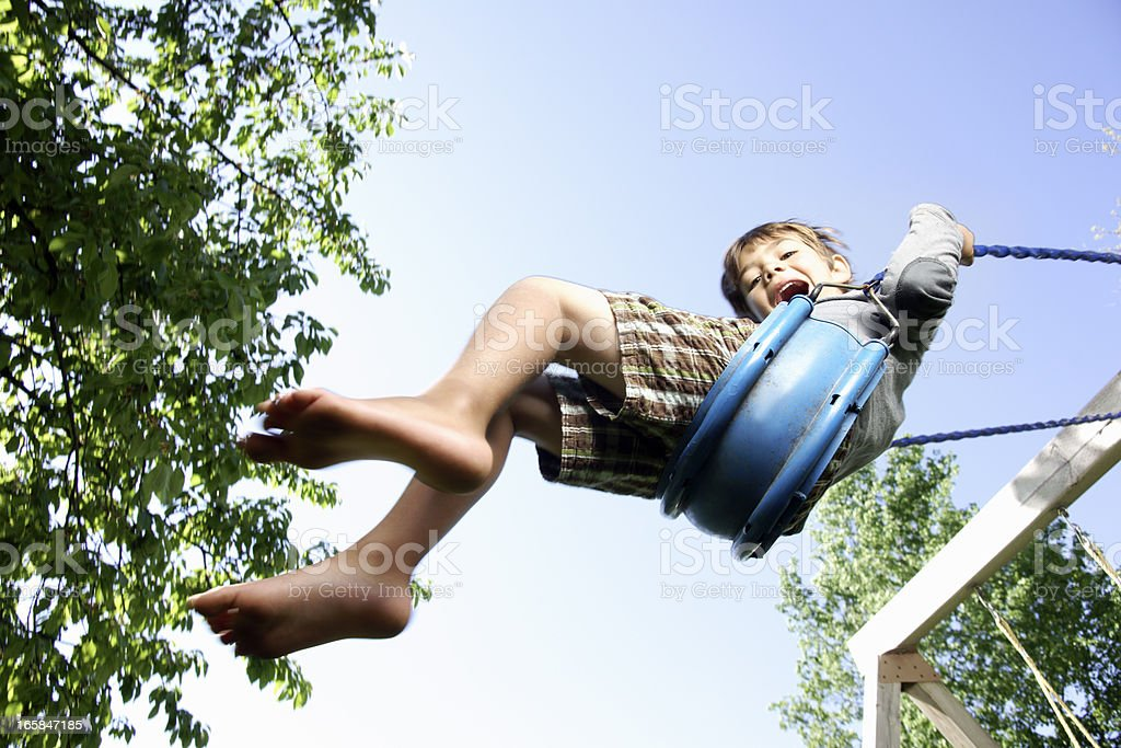 Big swing stock photo