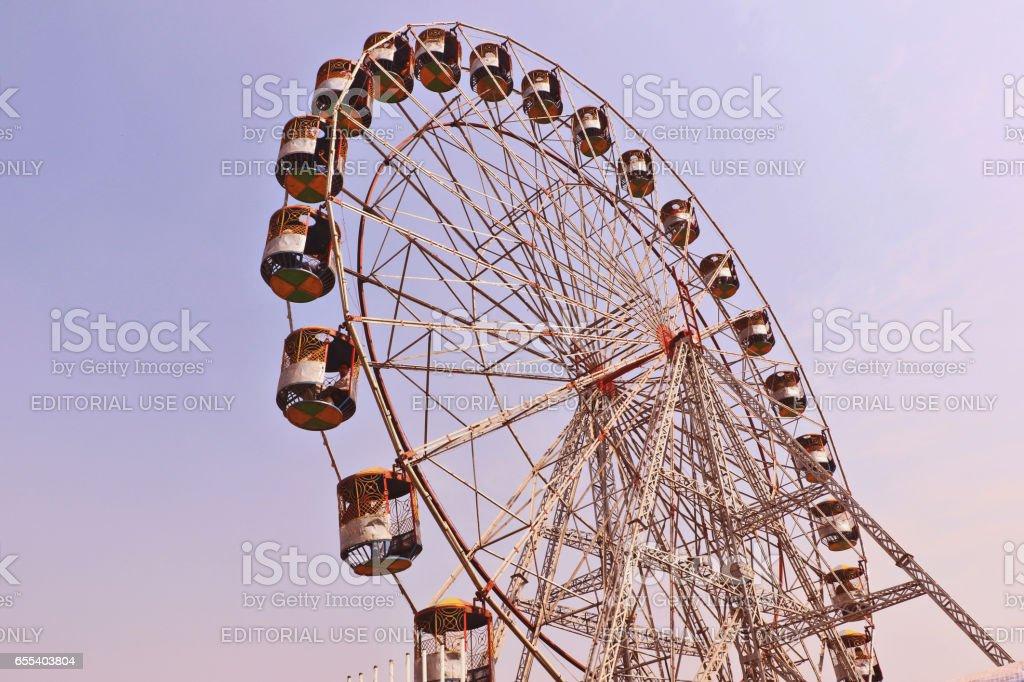 Big swings : Big entertainment stock photo