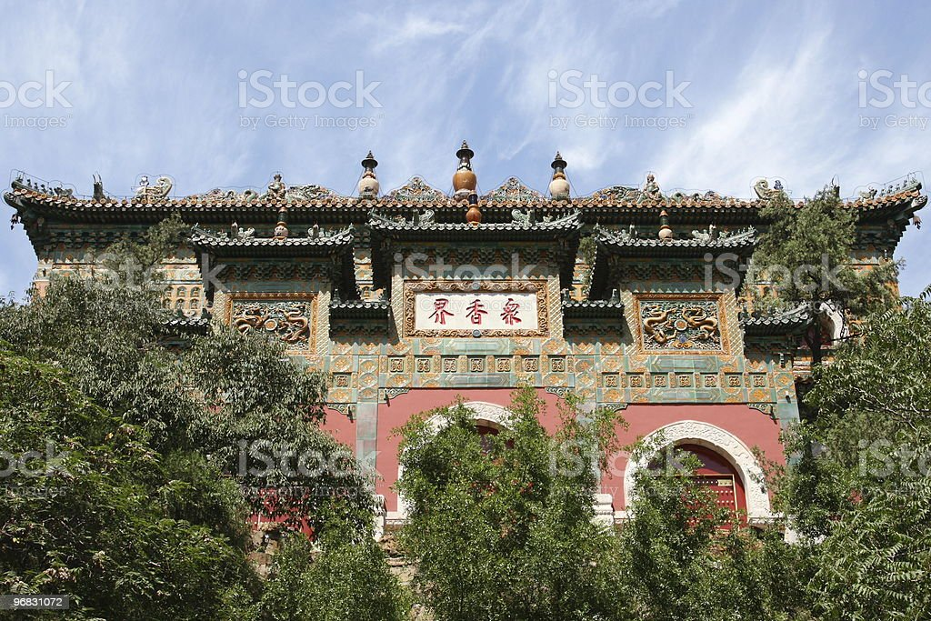 Big Temple of Summer Palace stock photo