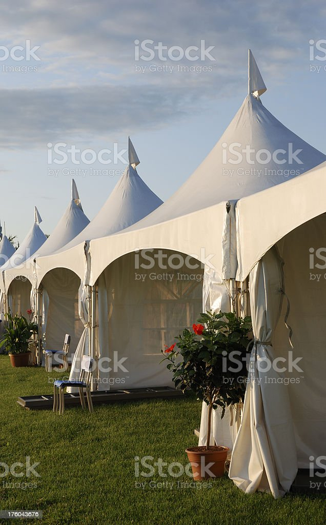 Big tent event. royalty-free stock photo
