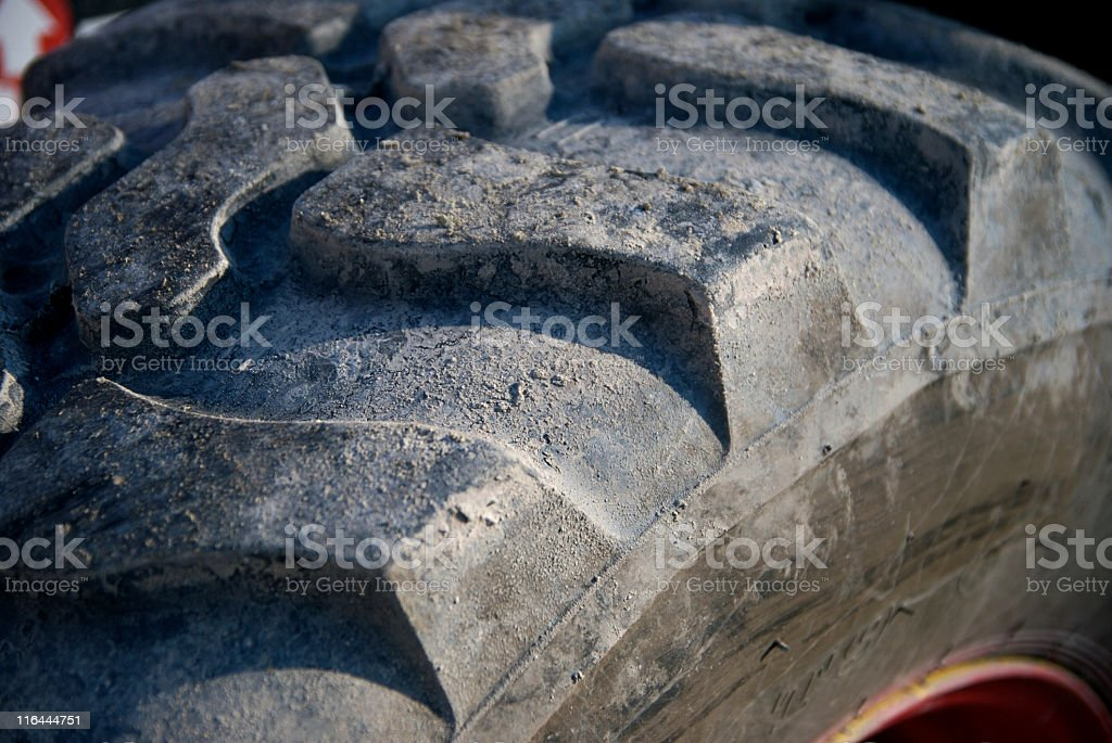 Big tire royalty-free stock photo