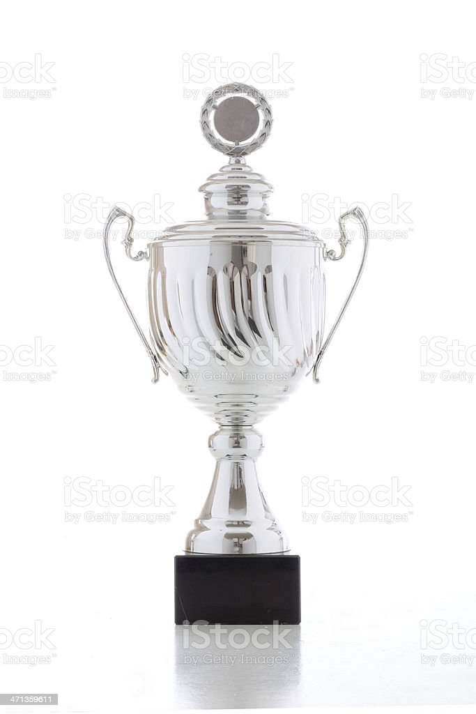 Big trophy royalty-free stock photo