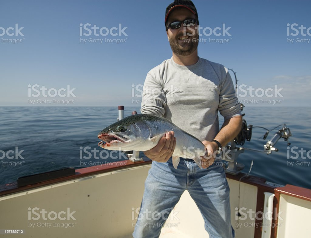 Big Trout royalty-free stock photo