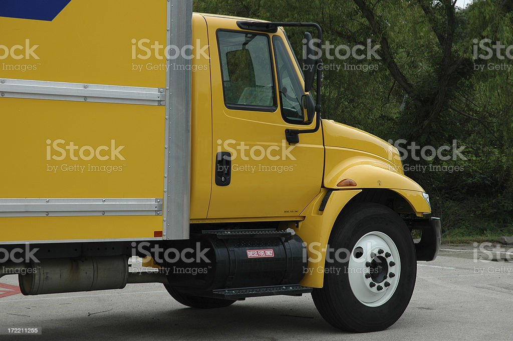 Big Truck royalty-free stock photo