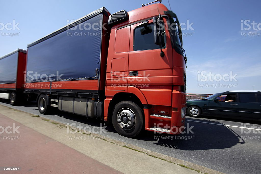 Big truck royalty-free stock photo
