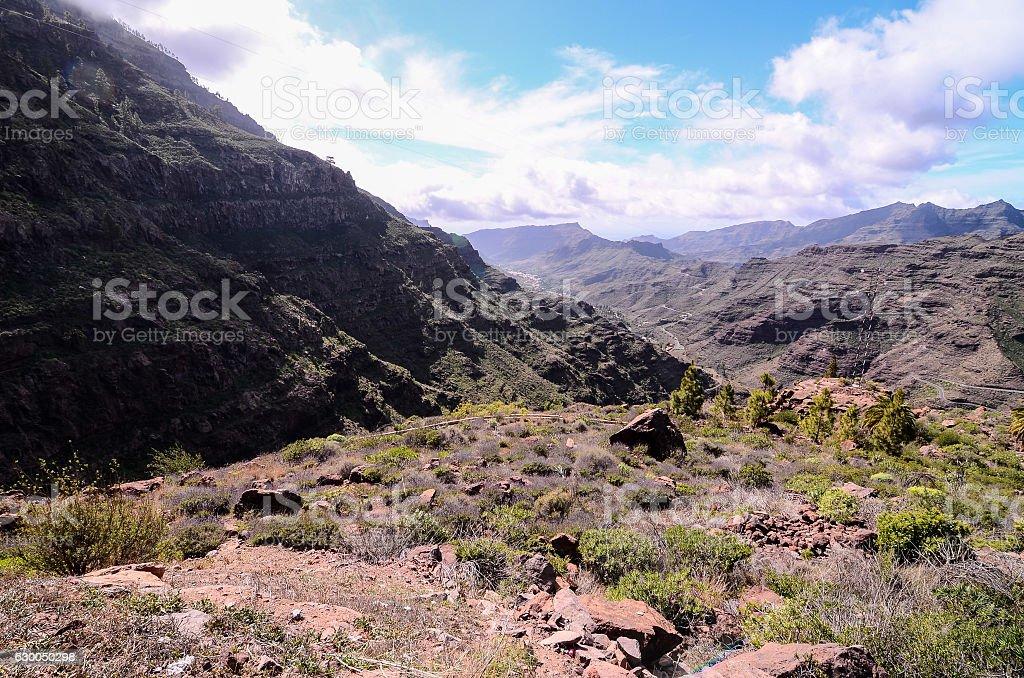Big Valley stock photo