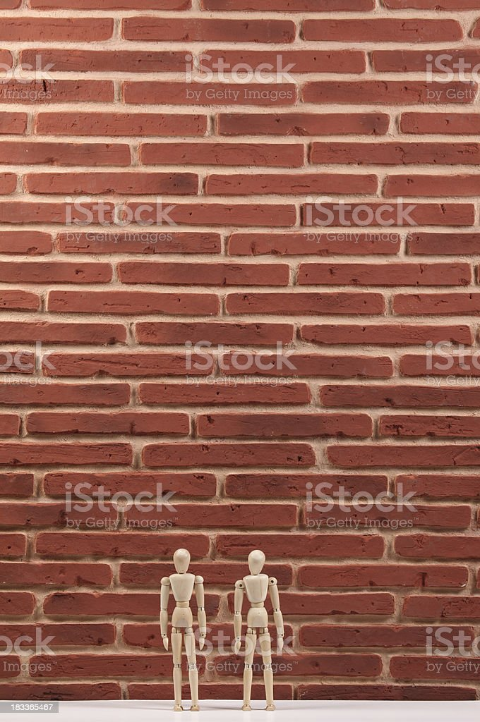 Big Wall stock photo