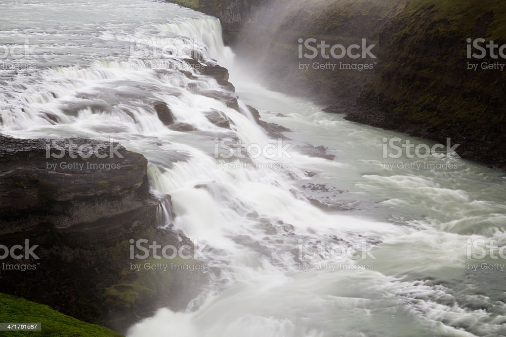 Big Waterfall stock photo