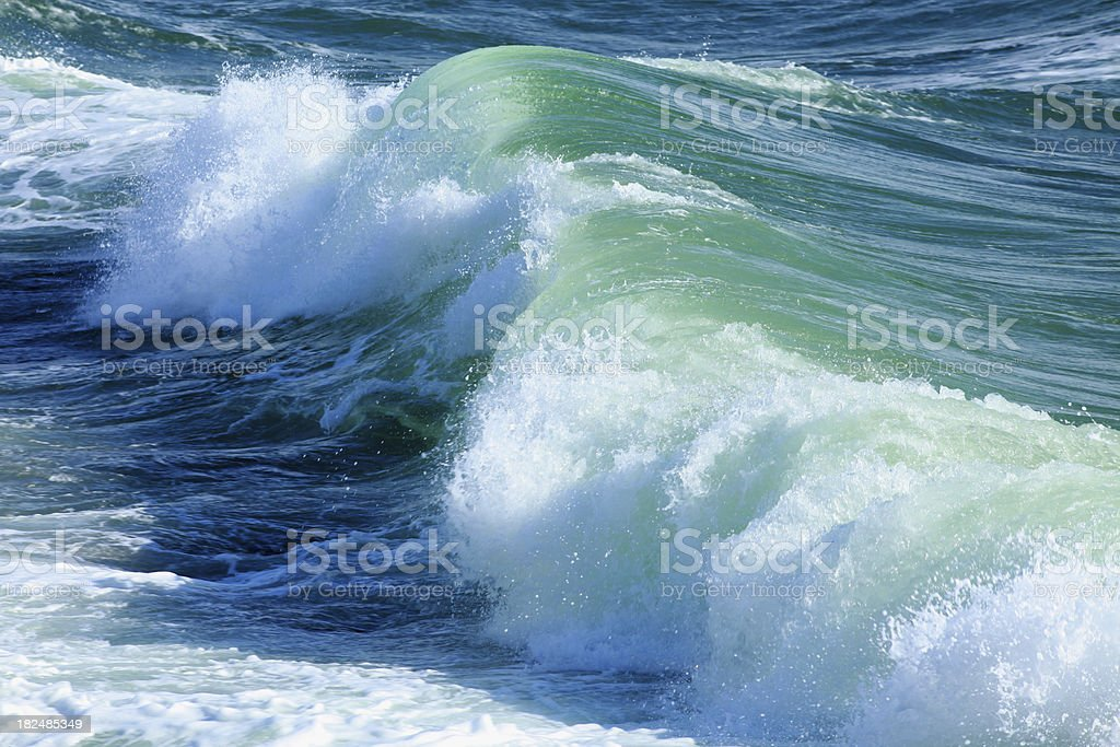 Big wave royalty-free stock photo