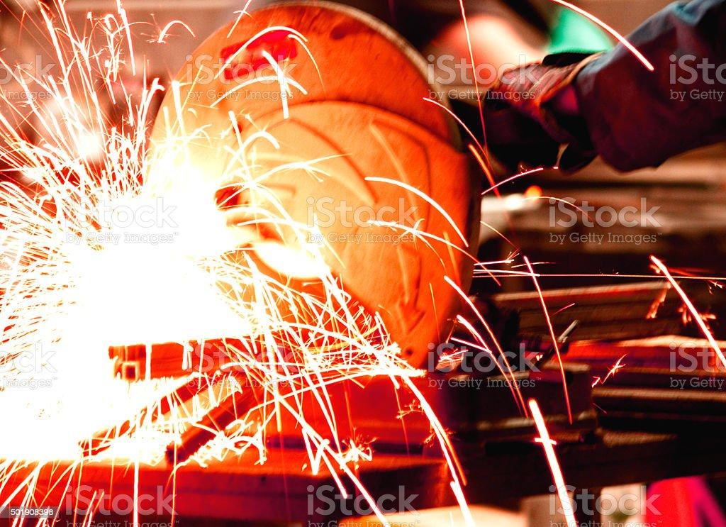 Big welding stock photo