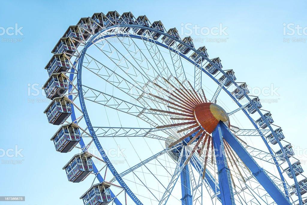 Big Wheel at Oktoberfest royalty-free stock photo