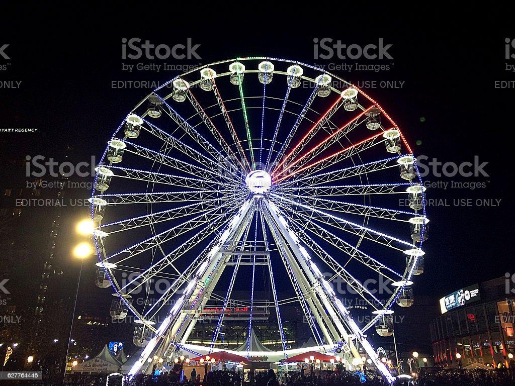 Big Wheel, Birmingham UK 2016 stock photo