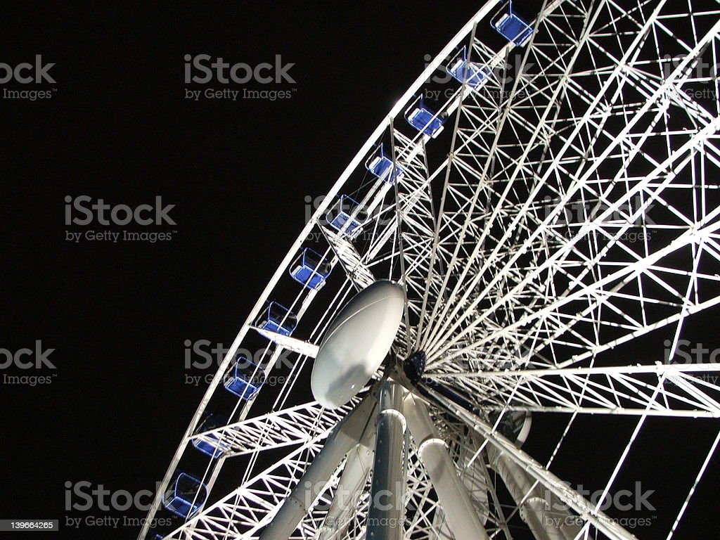 Big Wheel / Ferris Wheel stock photo