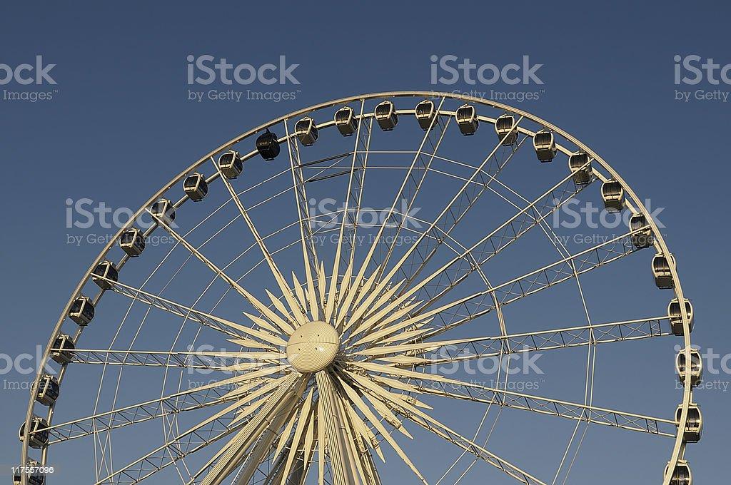 Big Wheel in Morning Sun stock photo