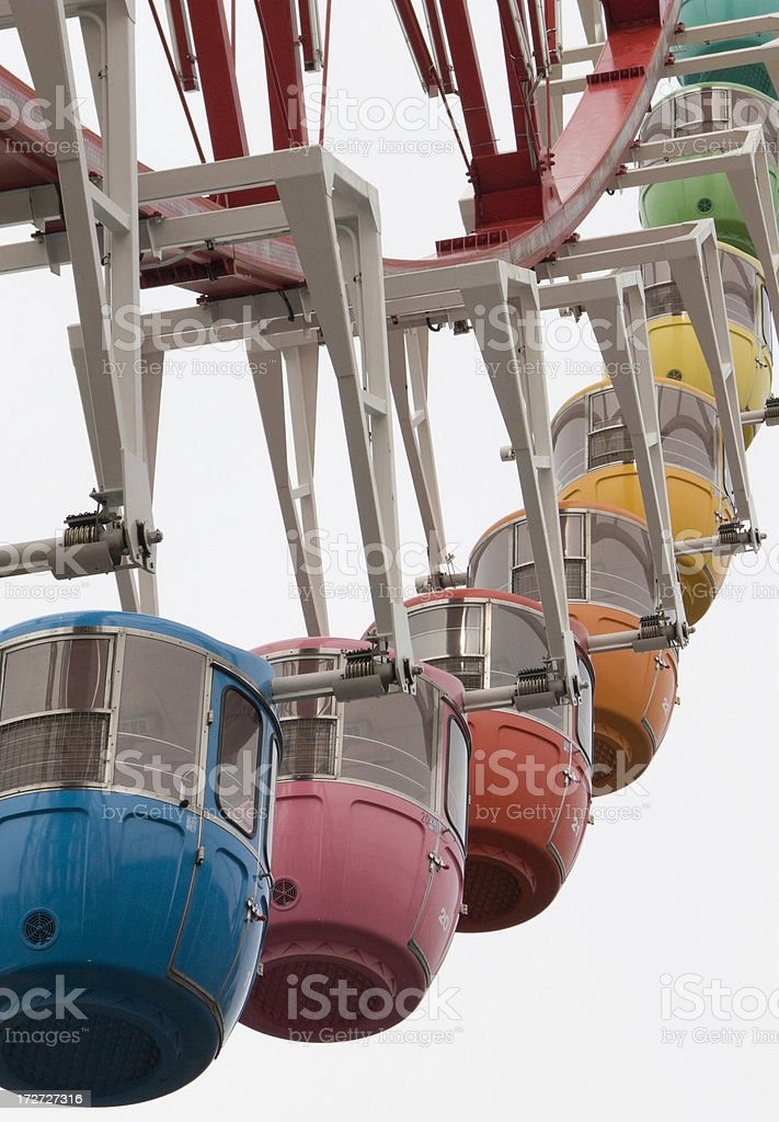 Big wheel in Odaiba. royalty-free stock photo