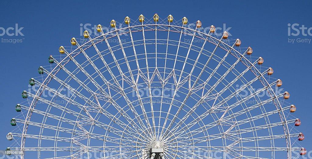 Big wheel in Osaka, Japan royalty-free stock photo