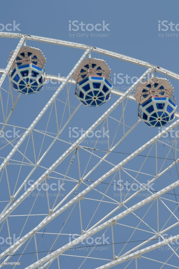 Big wheel. stock photo