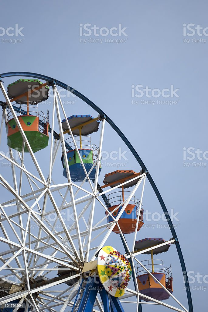 Big Wheel Vertical royalty-free stock photo