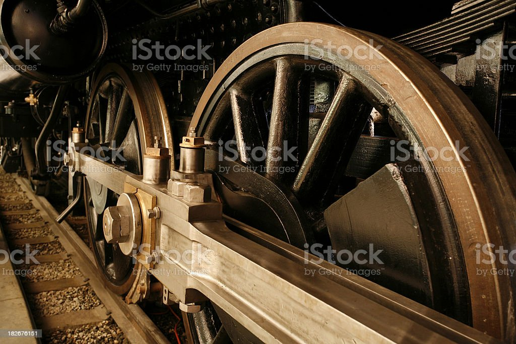 Big Wheels royalty-free stock photo