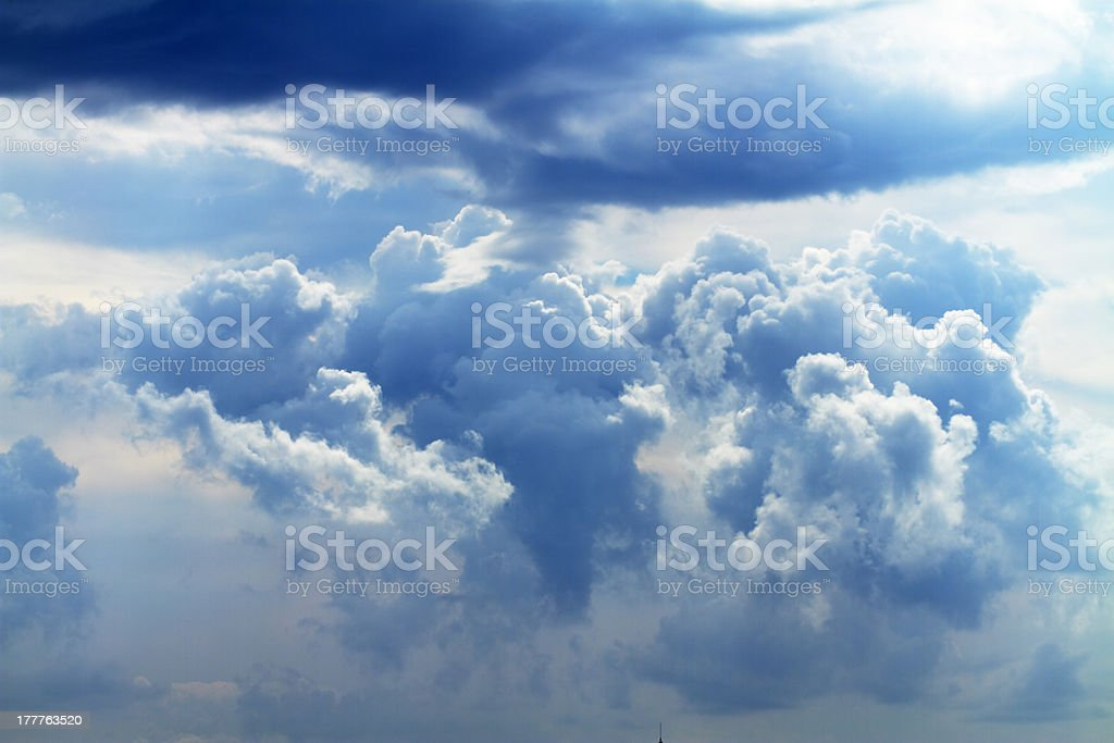 big white cloud royalty-free stock photo