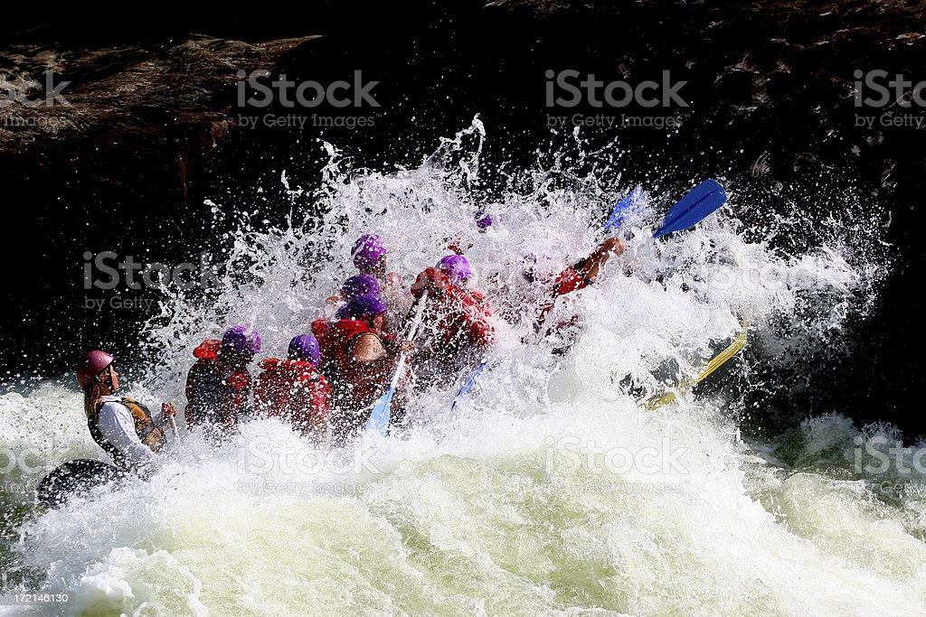 Big White Water royalty-free stock photo