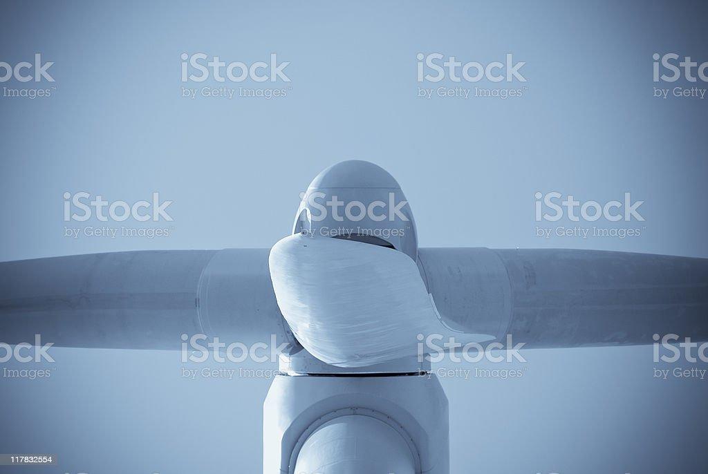 Big Wind Turbine stock photo