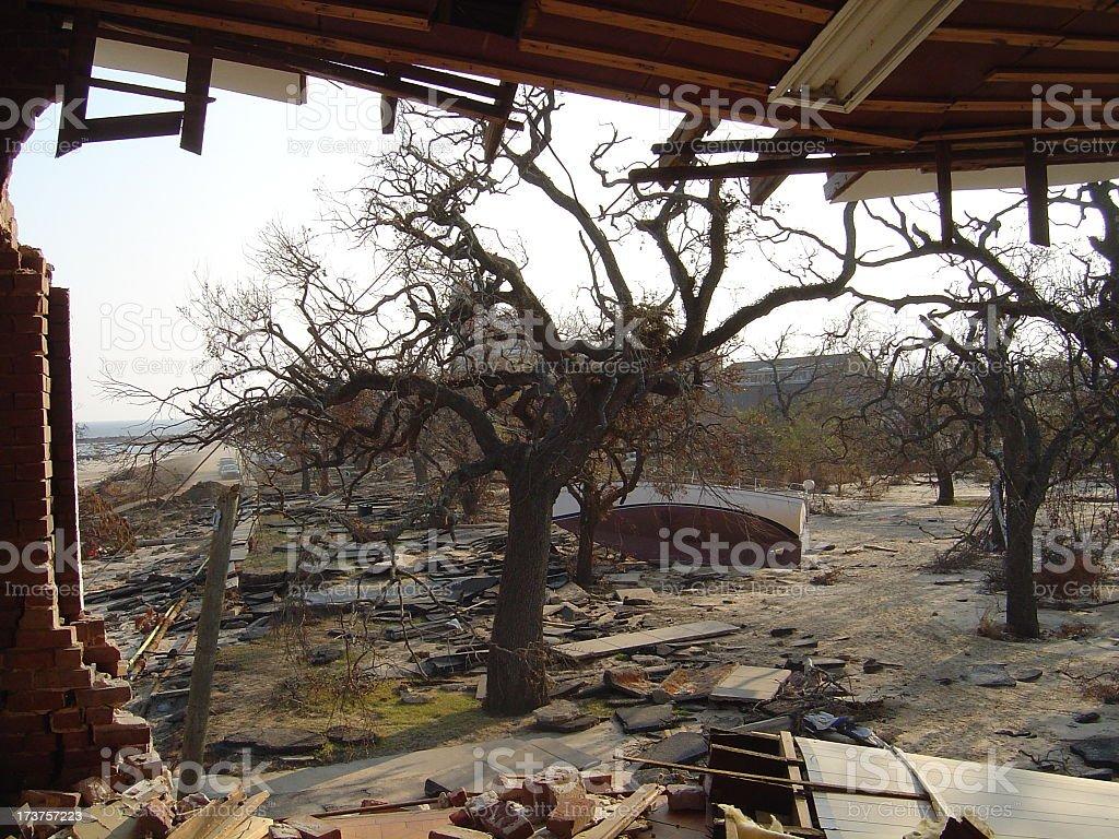 Big Window View stock photo