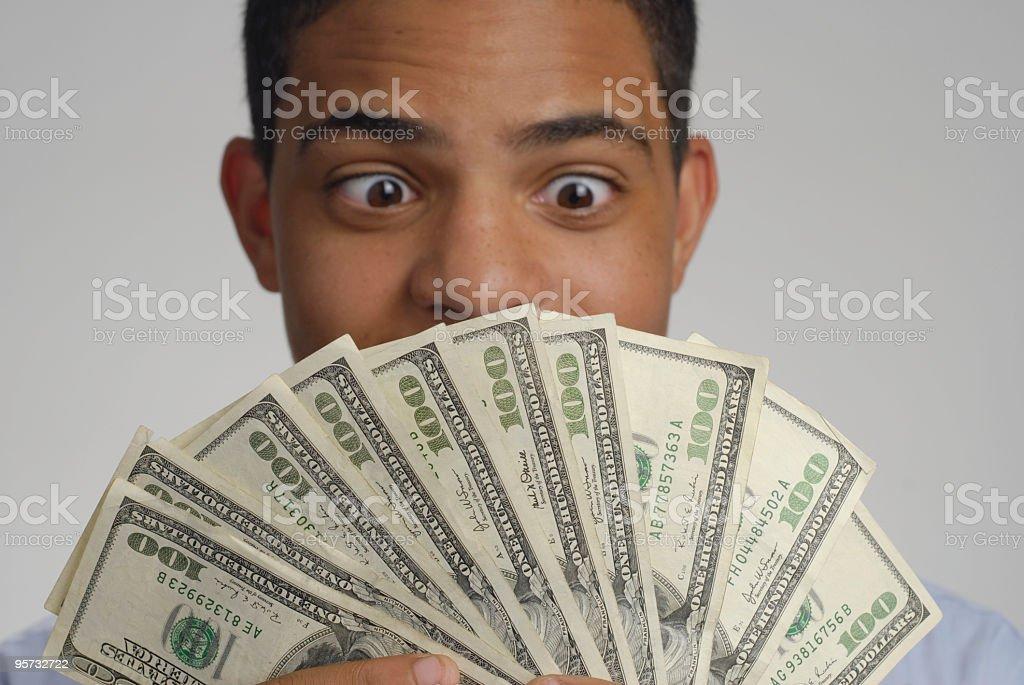 Big Winner stock photo