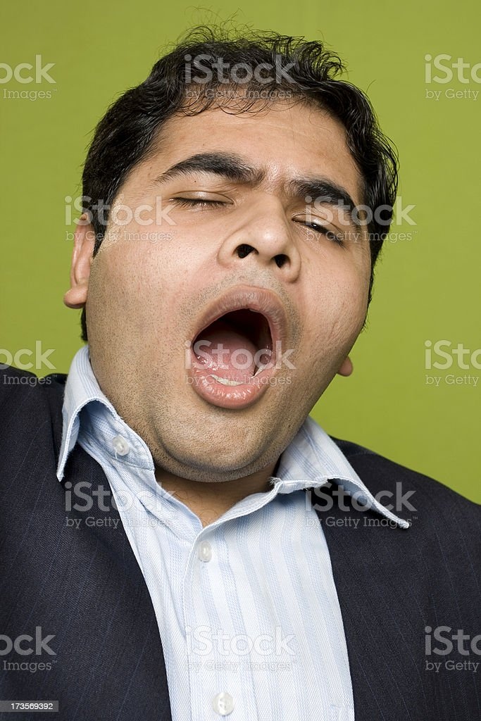 Big Yawn royalty-free stock photo