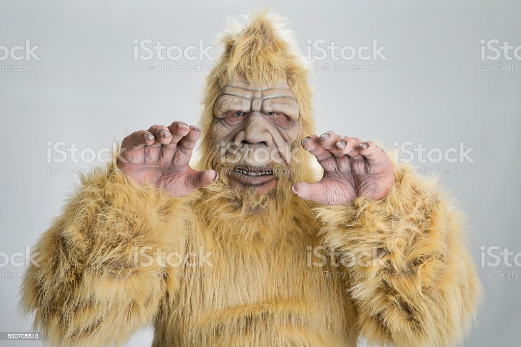 BigFoot Sasquatch stock photo