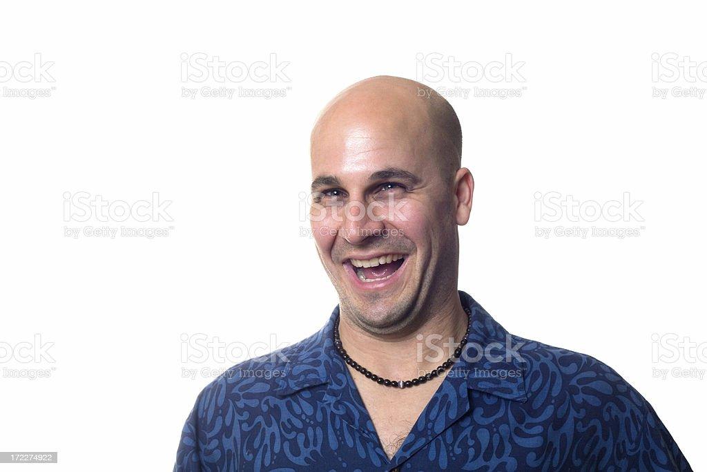 bigger laugh royalty-free stock photo