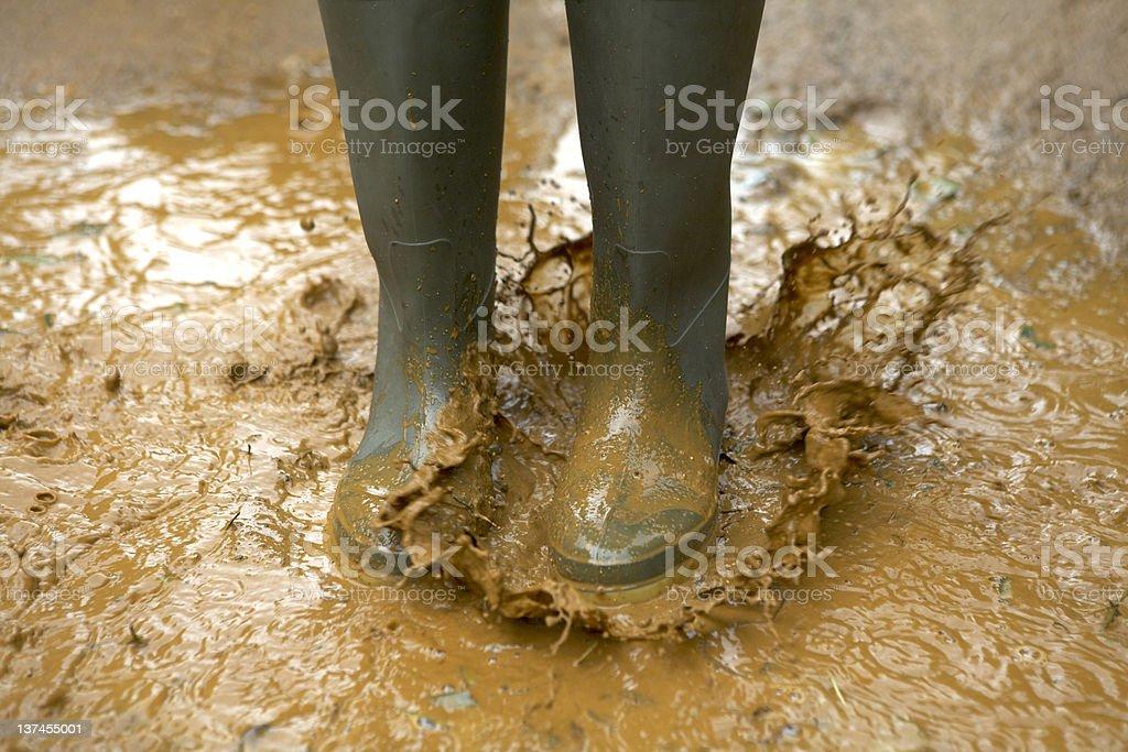 Bigger Splash stock photo