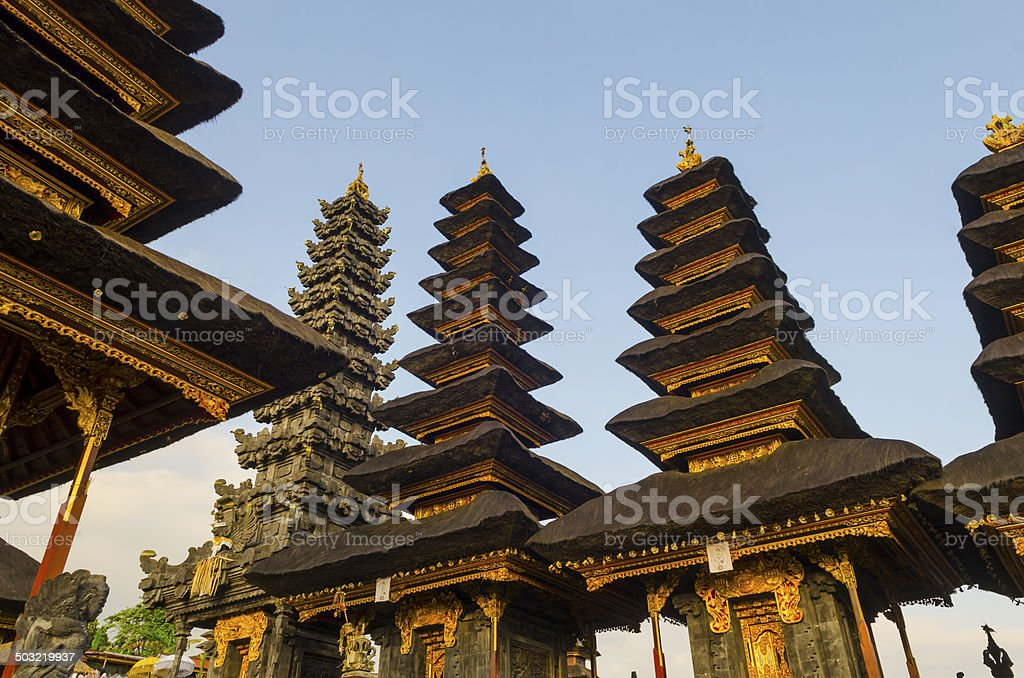 Biggest temple 'mother temples '. Bali,Indonesia. Besakih. stock photo