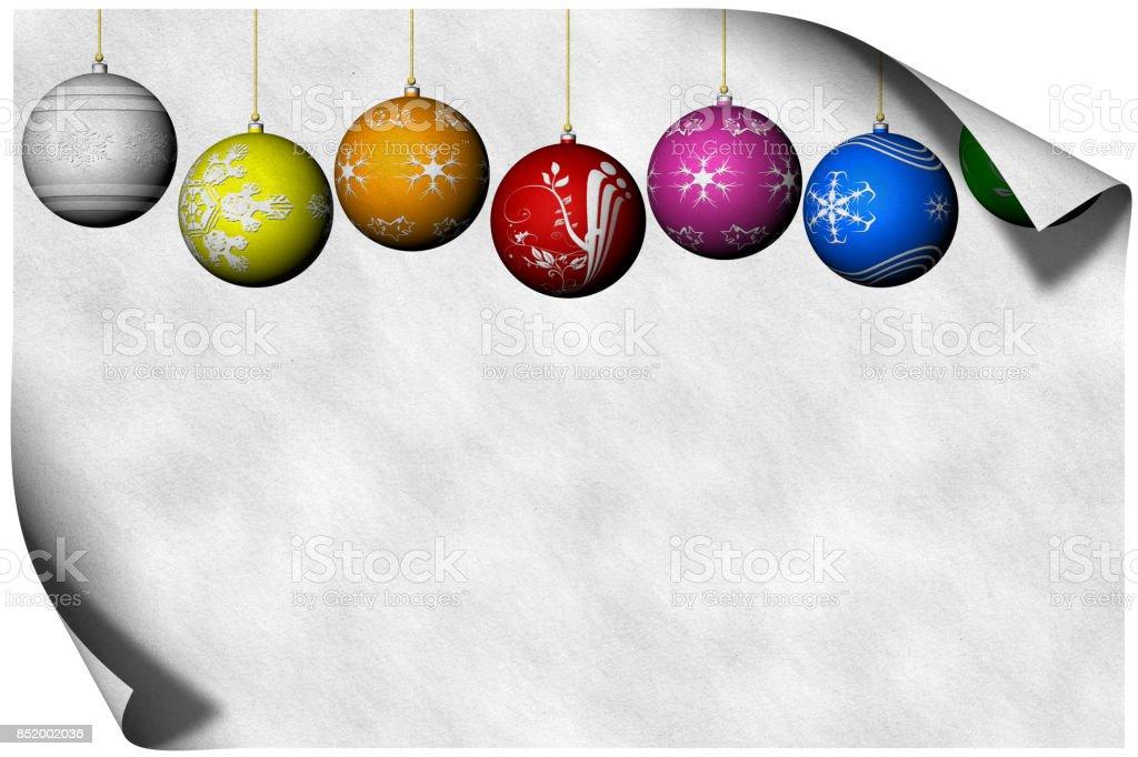 Biglietto Auguri Natale 002 stock photo