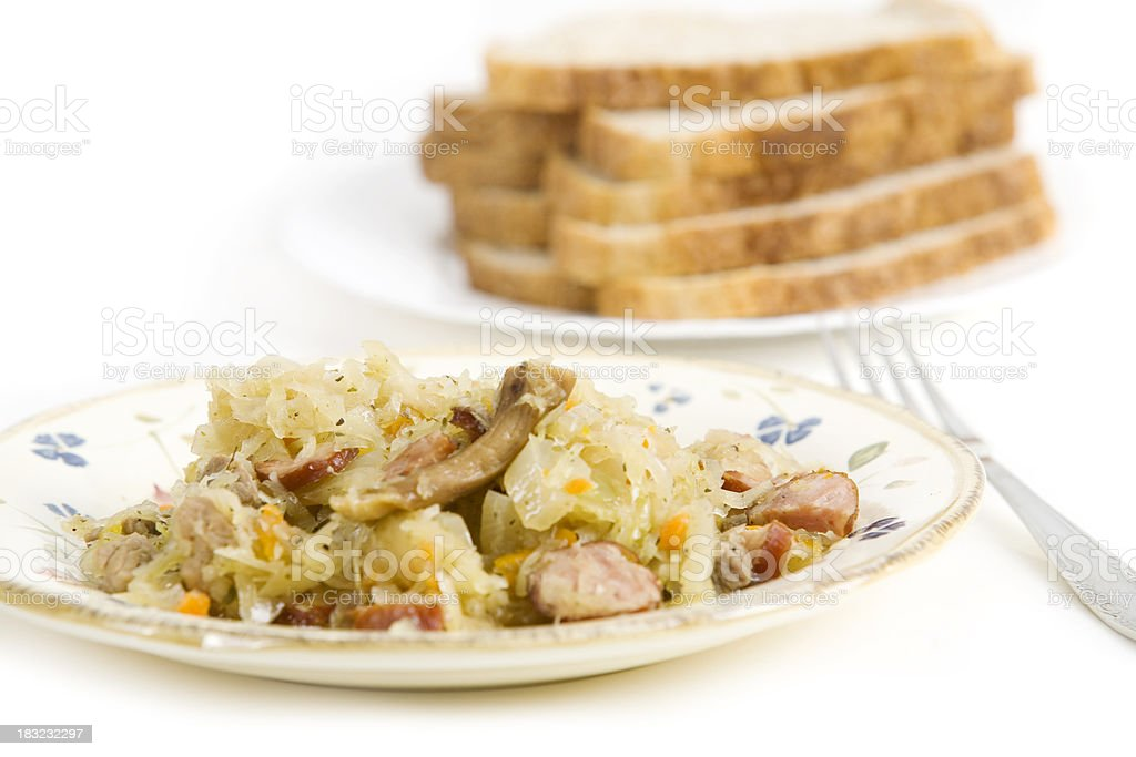 Bigos royalty-free stock photo