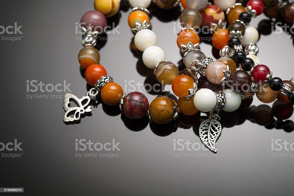 Bijouterie (Bracelets, handmade) stock photo