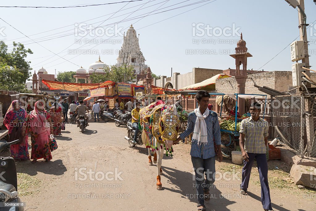 Bikaner, India stock photo