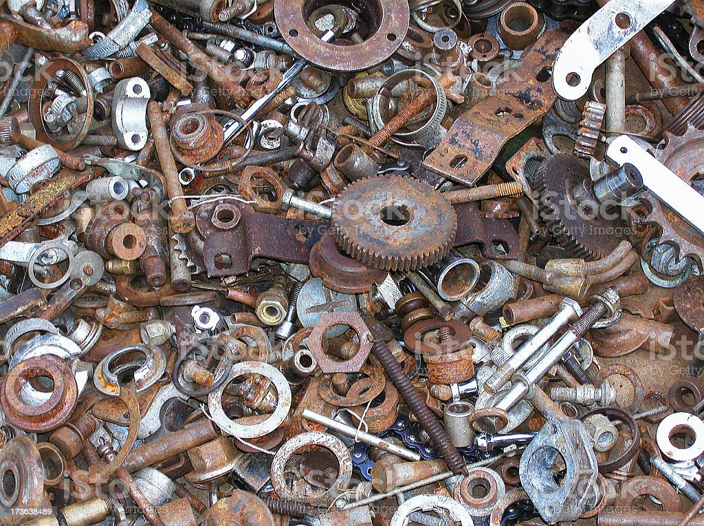 Bike Bits stock photo