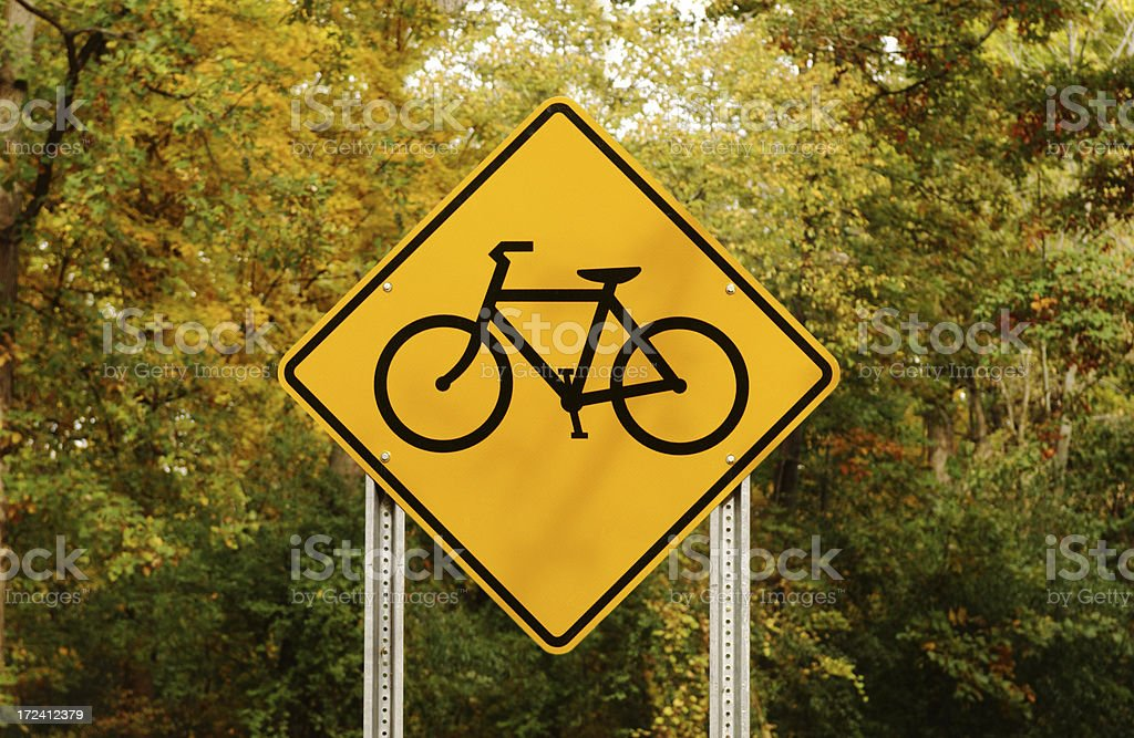 Bike Crossing royalty-free stock photo