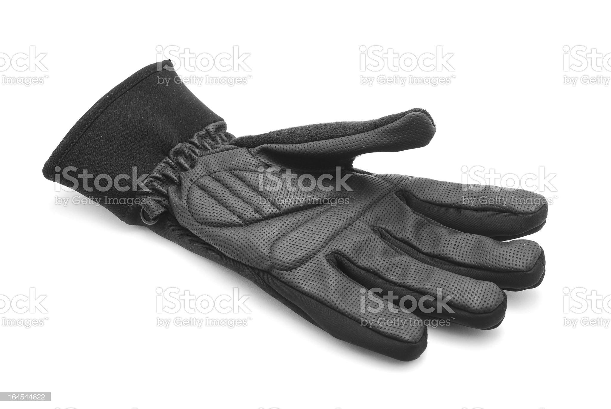 bike glove royalty-free stock photo