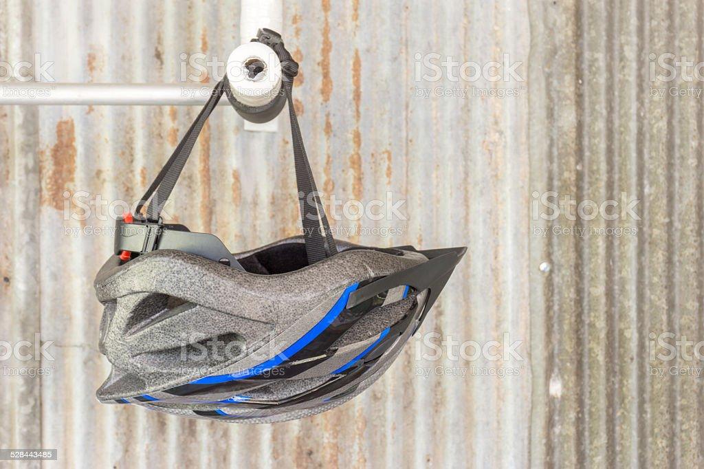 bike helmat stock photo