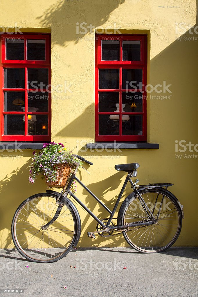 Bike, Ireland stock photo