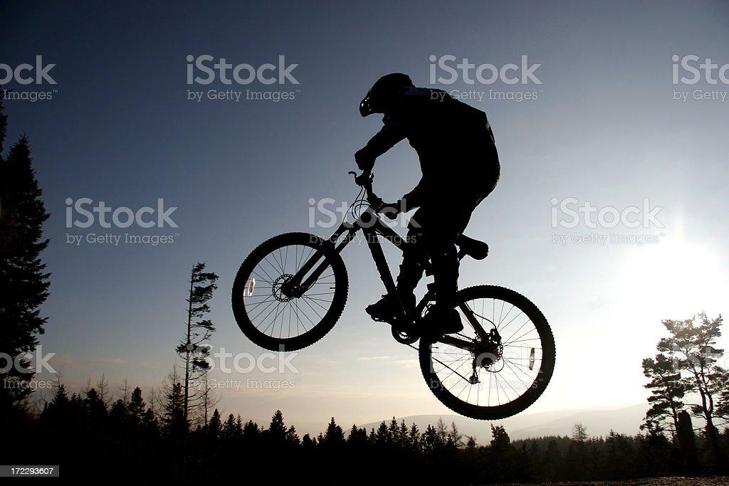 Bike park royalty-free stock photo
