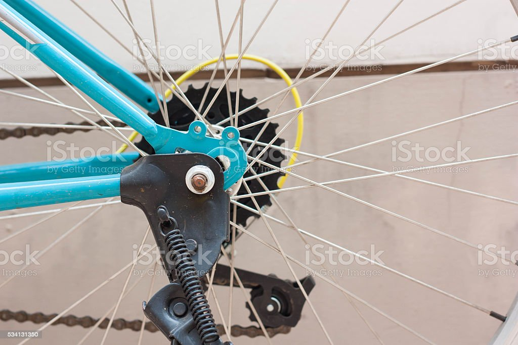 Bike part for bicycle. stock photo