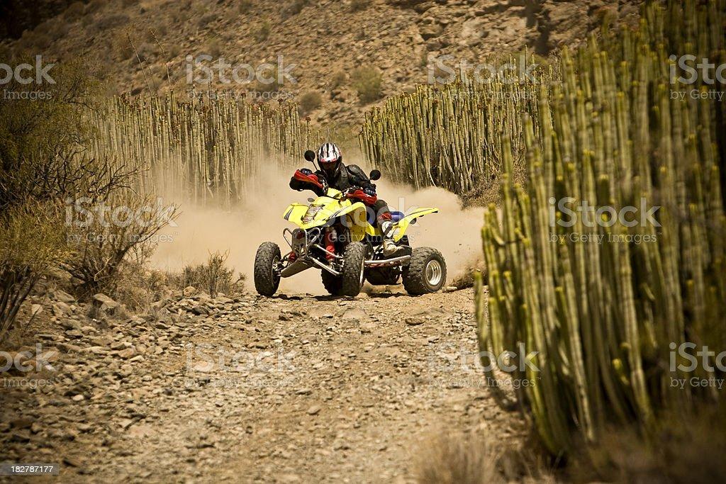 ATV bike royalty-free stock photo