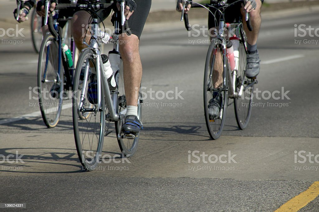 Bike race 1 royalty-free stock photo