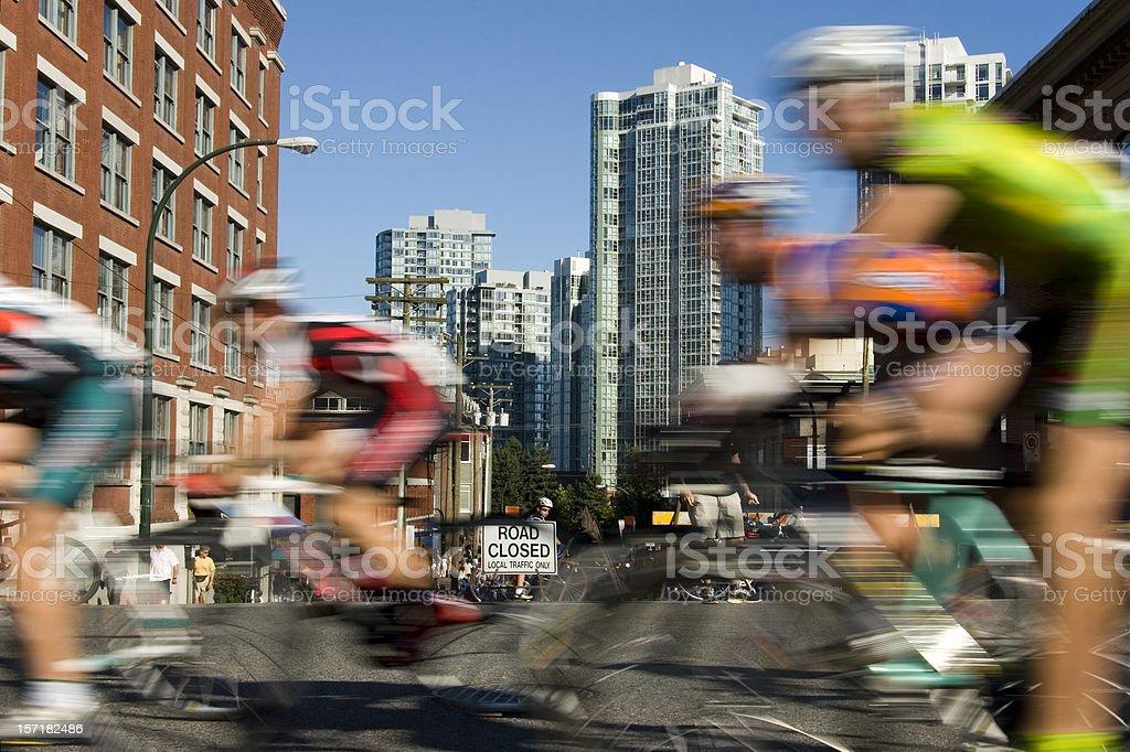 Bike Race royalty-free stock photo