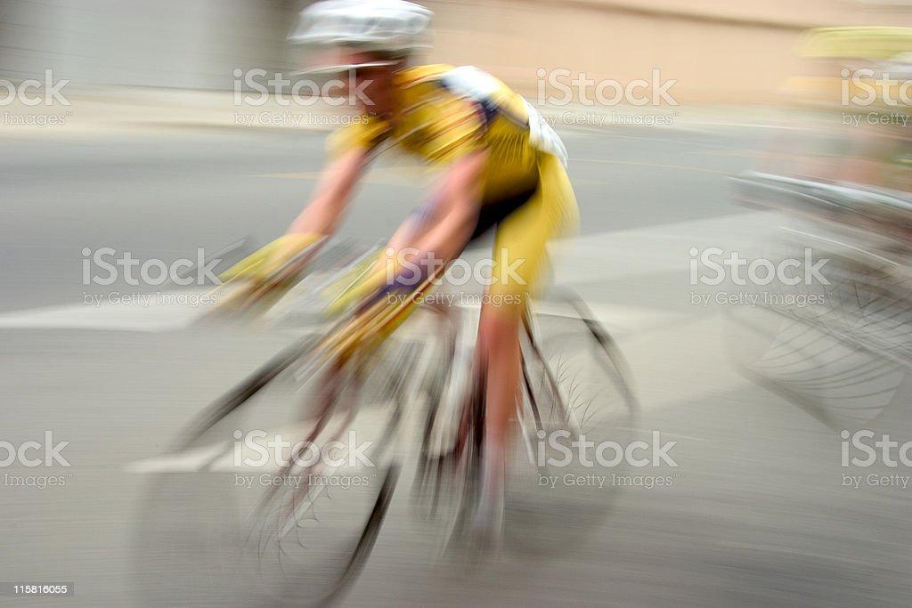 Bike Racer #1 royalty-free stock photo