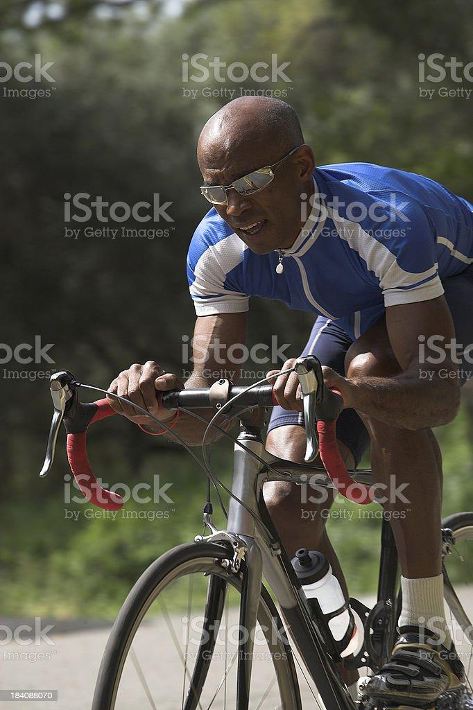 Bike Racer stock photo